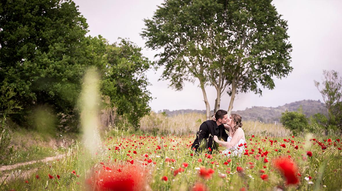 Wedding day reportage mariage de laetitia sebastien - Auberge cote jardin lezignan corbieres ...